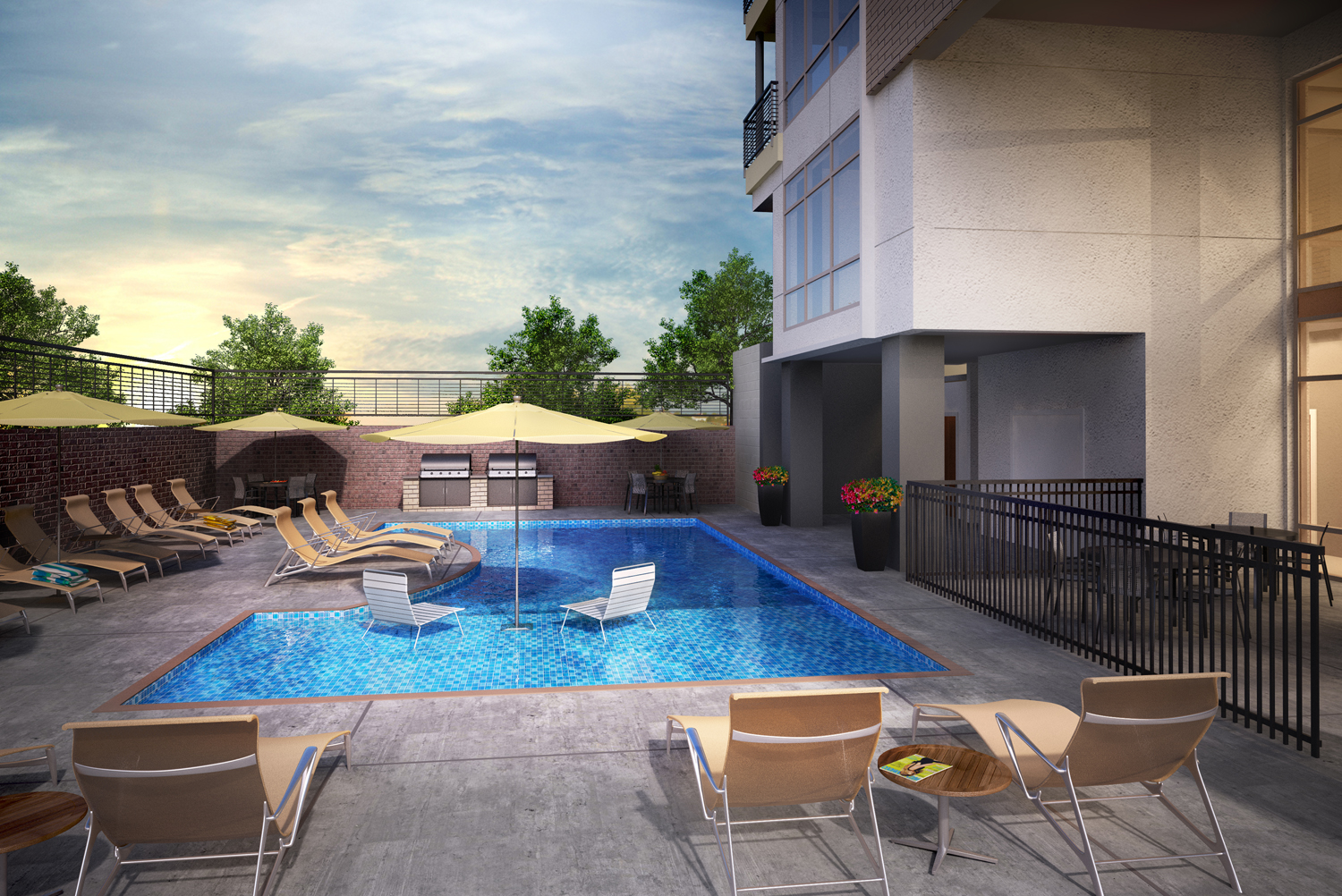 downtown luxury apartments